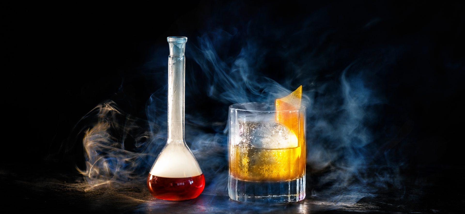 Cocktails at Novikov Miami bar in South Florida