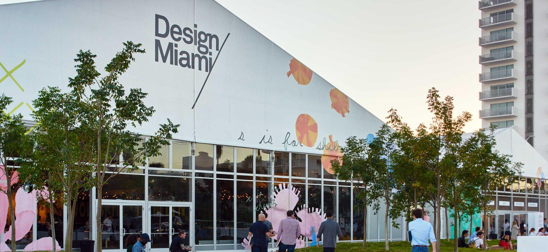 Design Miami exterior in Miami, Florida
