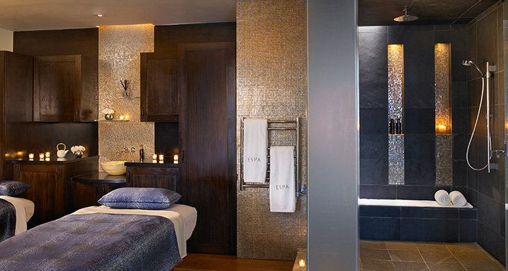 The Royal Spa Suite at Acqualina Resort & Residences in Miami, Florida